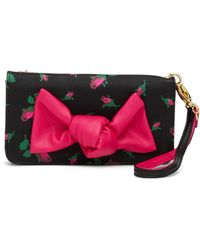 Betsey Johnson - Quilted Wristlet Wallet - Lyst