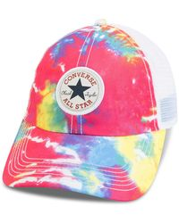 Converse - Journey's Tie Dye Trucker Hat - Lyst