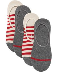 Richer Poorer - Theo No Show Socks - Pack Of 4 - Lyst