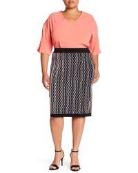 REBEL WILSON X ANGELS - Knit Pencel Skirt (plus Size) - Lyst
