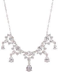 Nadri - Bliss Cz Dangle Pendant Necklace - Lyst