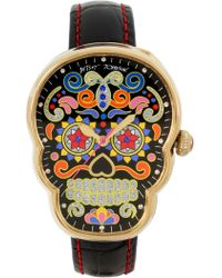 Betsey Johnson - Women's Sugar Skull Quartz Watch, 40.5mm X 32mm - Lyst