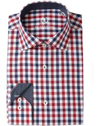 Bugatchi - Woven Shaped Fit Dress Shirt - Lyst