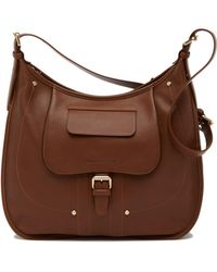 Longchamp - Bzane Leather Hobo Bag - Lyst
