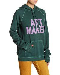 FREE CITY - Art Maker Pullover Hoodie - Lyst