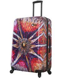 Mia Toro Italy Spider Eye Hard Shell Luggage