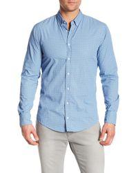 BOSS - Edipoe Slim Fit Shirt - Lyst