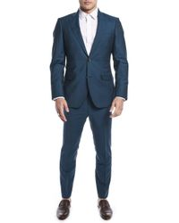Strong Suit - By Ilaria Urbinati Kilgore Slim Fit Solid Wool & Mohair Suit (nordstrom Exclusive) - Lyst