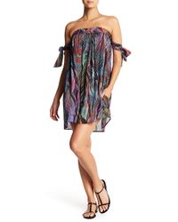 Pilyq - Naya Tie Sleeve Dress - Lyst
