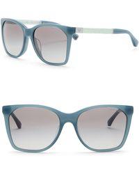 Emporio Armani - 57mm Oversized Acetate Frame Sunglasses - Lyst