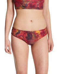 Becca - Print Bikini Bottoms - Lyst