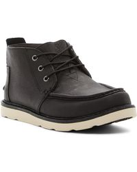 TOMS - Chukka Men's Mid Boots In Black - Lyst