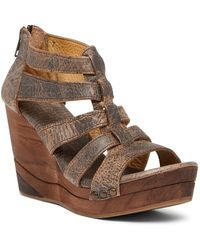 Bed Stu - Olinda Wedge Sandal - Lyst