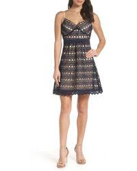 Foxiedox - Hellia Lace A-line Dress - Lyst