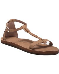 73de912ad Rainbow Sandals - Calafia Single Layer Center Braid Heel - Lyst