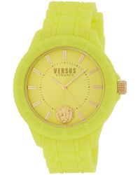 Versus - Women's Silicone Strap Watch, 42mm - Lyst