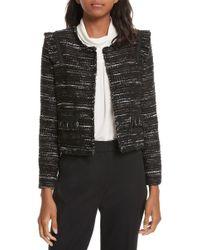 Joie - Perlyn Tweed Jacket - Lyst