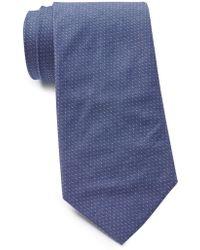 Tommy Hilfiger - Tiny Micro Dot Cotton Tie - Lyst