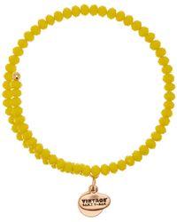 ALEX AND ANI - Mango Pebble Expandable Wire Charm Bracelet - Lyst
