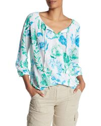 Tommy Bahama | Florals Falling Linen Top | Lyst