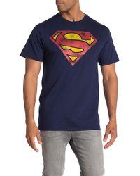 Bioworld Vintage Superman Logo T-shirt