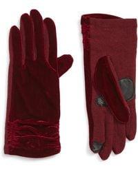 Echo - Radhika Vevlet Touch(r) Gloves - Lyst