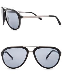 Kenneth Cole Reaction - Women's Metal Aviator Sunglasses - Lyst