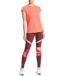 Body Glove - Floral Mesh Panel Leggings - Lyst