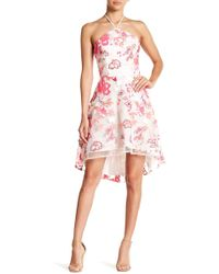 Alexia Admor - Embrodiered Hi-lo Dress - Lyst
