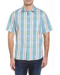 Tommy Bahama - Playa Del Plaid Classic Fit Sport Shirt - Lyst