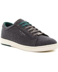Ted Baker - Minem3 Textile Trainers - Lyst