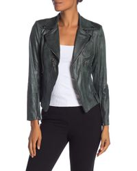 Insight - Faux Leather Moto Jacket - Lyst