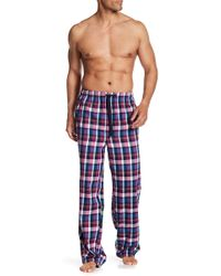 Tommy Bahama - Retro Plaid Flannel Lounge Trousers - Lyst