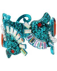 Betsey Johnson - Seahorse Hinge Bracelet - Lyst