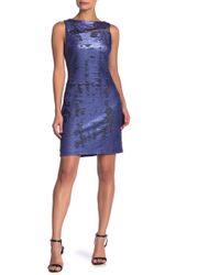 Julia Jordan - Sleeveless Sequin Dress - Lyst
