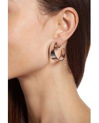 Vince Camuto - Wide Clip On 30mm Hoop Earrings - Lyst