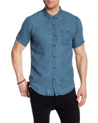 Ezekiel - Black Rock Regular Fit Shirt - Lyst
