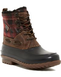 Sperry Top-Sider - Decoy Genuine Shearling Moc Toe Boot - Lyst