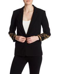 ABS By Allen Schwartz - Embellished Evening Jacket - Lyst