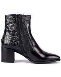 Andre Assous - Miranda Croc Embossed Boot - Lyst