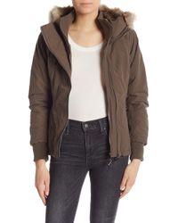 Bench - Kidder Faux Fur Hooded Jacket - Lyst