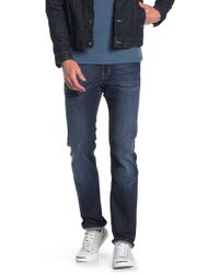 7 For All Mankind - Slimmy Dark Washed Jeans - Lyst