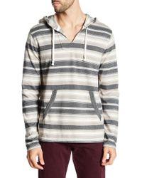 Lucky Brand - Stripe Baja Long Sleeve Stripe Sweatshirt - Lyst