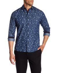 Descendant Of Thieves - Floral Print Shirt - Lyst