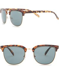 0e372d0803 Lyst - Quay 50mm Byron Square Sunglasses in Blue for Men