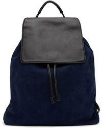 Christopher Kon - Suede & Leather Backpack - Lyst