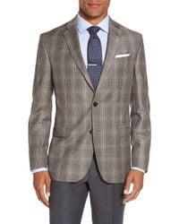 Ted Baker - Jay Trim Fit Plaid Wool Sport Coat - Lyst