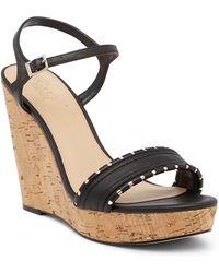 Badgley Mischka - Gina Wedge Platform Sandal - Lyst