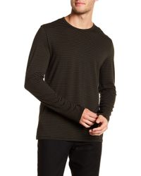Vince - Feeder Striped Long Sleeve Tee - Lyst