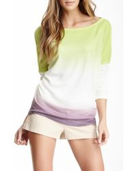 Go Couture - Boatneck Dolman Sweater - Lyst